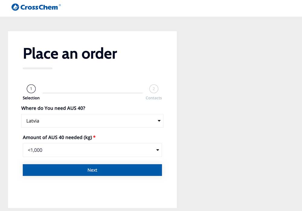 A checkout website that is optimized for conversions by using a distraction-free checkout layout.